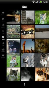 500px - Search features