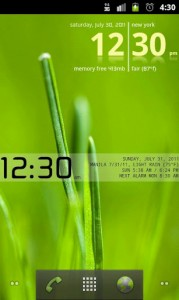 Advanced Clock Widget Pro 2
