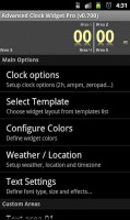 Advanced Clock Widget Pro Settings 3