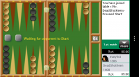 Backgammon GC - Watching game 2