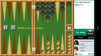Backgammon GC - Watching game 3