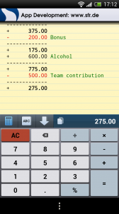 CalcTape Smart Calculator -Calc or keyboard view