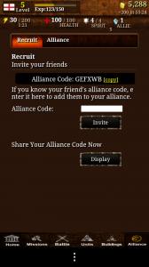 Civilisation War - Alliances