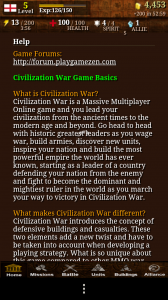 Civilisation War - Help