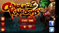 Conquer 3 Kingdoms Deluxe - Main menu