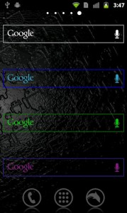 Custom ICS Search Widget