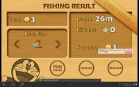 Doraemon Fishing Level End