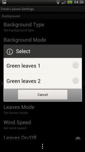 Fresh Leaves - Leaves type