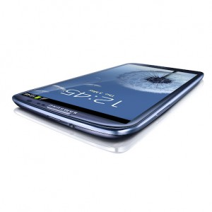 GALAXY S III Low Table Angle View