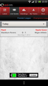 Goal.com - Live scores