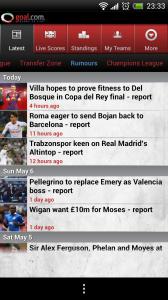 Goal.com - Rumours