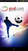 Goal.com - Splash page