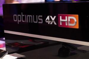LG Optimus 4X HD Signage