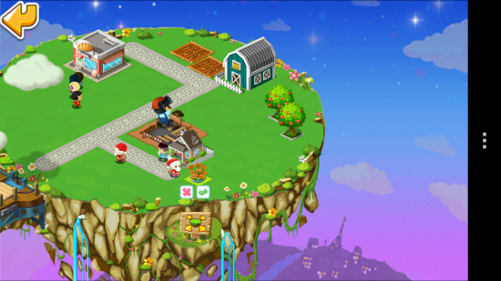 MiniTown – build your city on a floating island in this cute Tycoon game