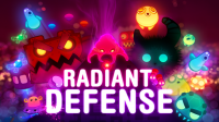 Radiant Defense - Splash page