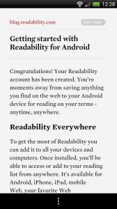 Readability - Blog