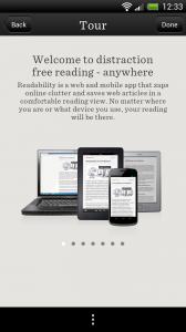 Readability - Tour