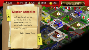 Rebuild - Missions get cancelled for various reasons; injury and death being the most common