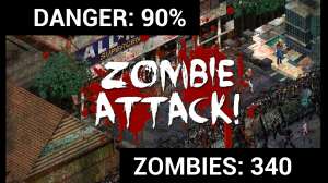 Rebuild - With 340 zombies pounding your community defense you'll need to expect human losses