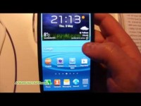 Samsung GALAXY S 3 Hands-on Video
