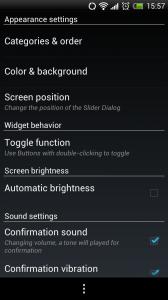 Slider Widget - Appearance Settings