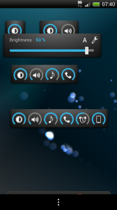 Slider Widget - Slide to adjust