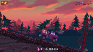 Snuggle Truck - Forest level
