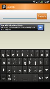 TubeMP3 Machine - Search feature