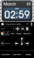 Ultimate Custom Clock Widget 7