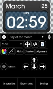 Ultimate Custom Clock Widget 7