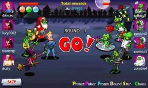 Zombie Wars - Team battle 2
