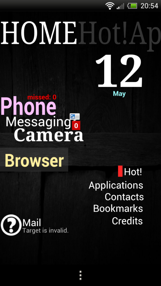 ssLauncher – Fresh & Innovative twist on Home Screen Replacement Android Apps