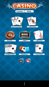 15-in-1 Casino & Sportsbook - Menu