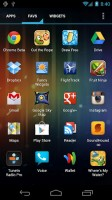 Apex Launcher Pro Apps Drawer