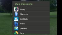 DMD Panorama - Sharing options