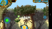 Dragon & Dracula - Jump through the trees and find all the gems