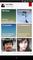Flipboard beta - Personal sources