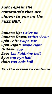 Fuzz Ball - Instructions