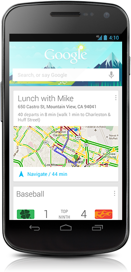 Google Now Revamped Search for Android