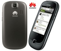 Huawei Ascend Y100 Front & Back Views