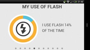 Infoto - Flash usage