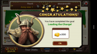 Kingdom of Heroes - Completed goal