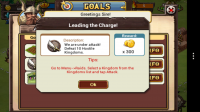 Kingdom of Heroes - Goals