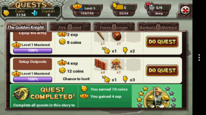 Kingdom of Heroes - Quests