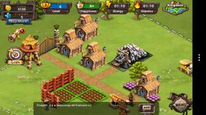 Kingdom of Heroes - Slowly growing village