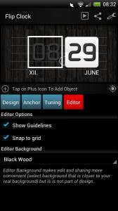 Make Your Clock Widget - Editor