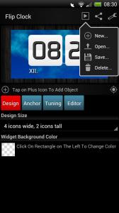 Make Your Clock Widget - Options
