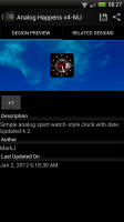 Make Your Clock Widget - Preview pane