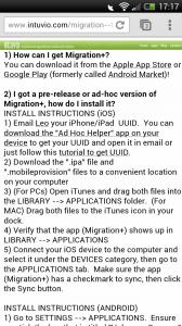 Migration+ - FAQs