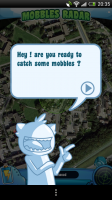 Mobbles - The Mobble-catching features gets you out and about hunting Mobbles